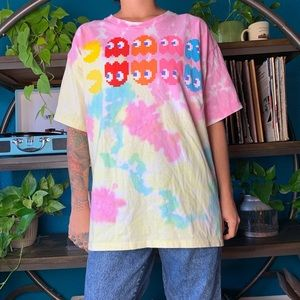 Other - Tie dye PacMan tee 100% cotton
